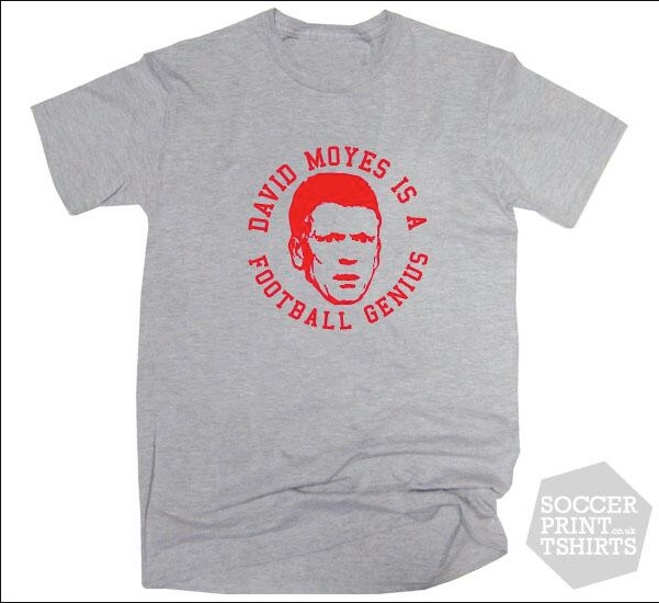 David Moyes tshirt