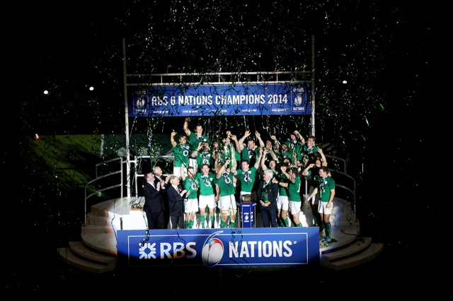 Ireland win the Six Nations