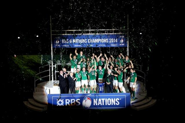 Ireland win the Six Nations