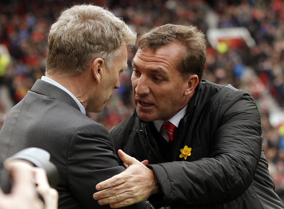 David Moyes and Brendan Rodgers