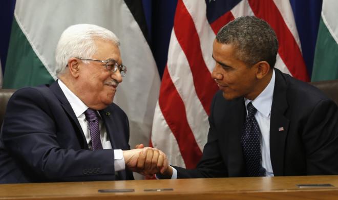Abbas Obama Netanyahu Israel Palestine Middle East Kerry Ramallah Tel Aviv