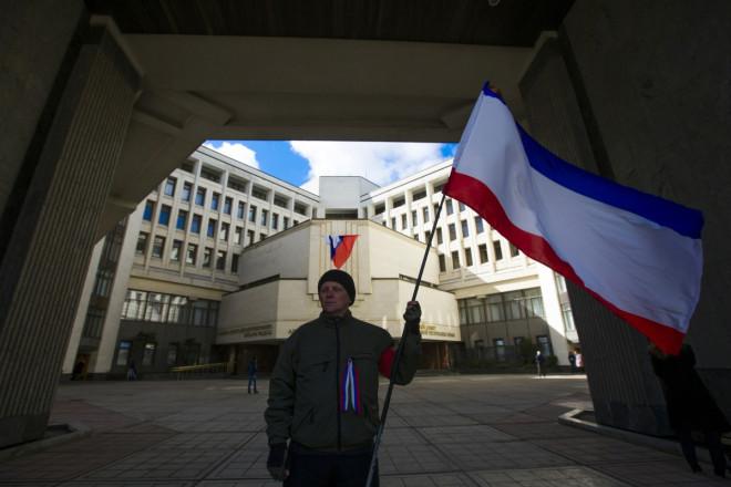 Crimea referendum Simferopol Moves Clocks Changes Currency