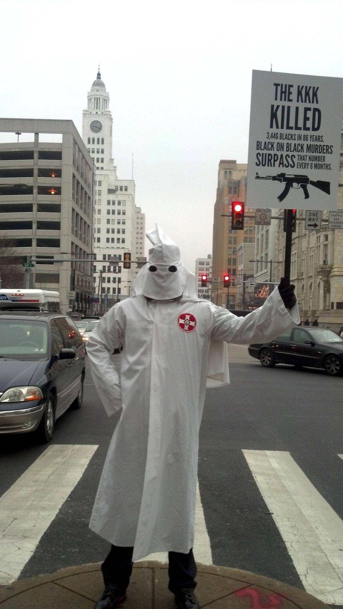The Black Klansman: Why Black Activist Sixx King Dons His KKK Robes