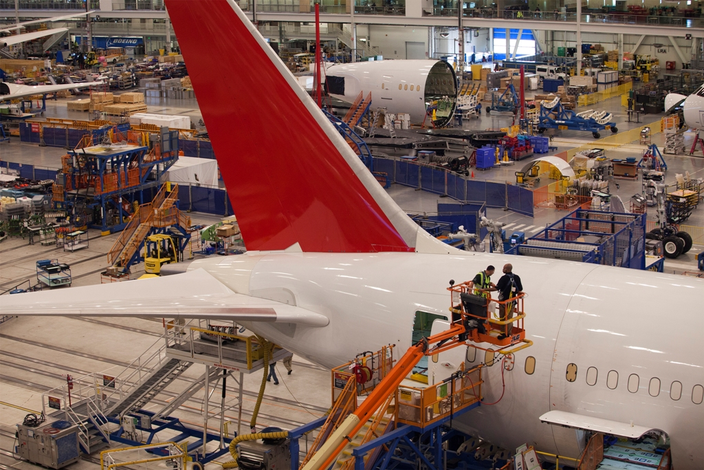 Boeing Factory US