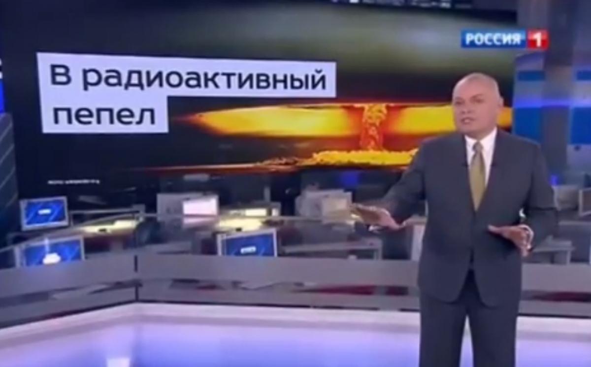Dmitry Kiselyov Russia US nuclear war