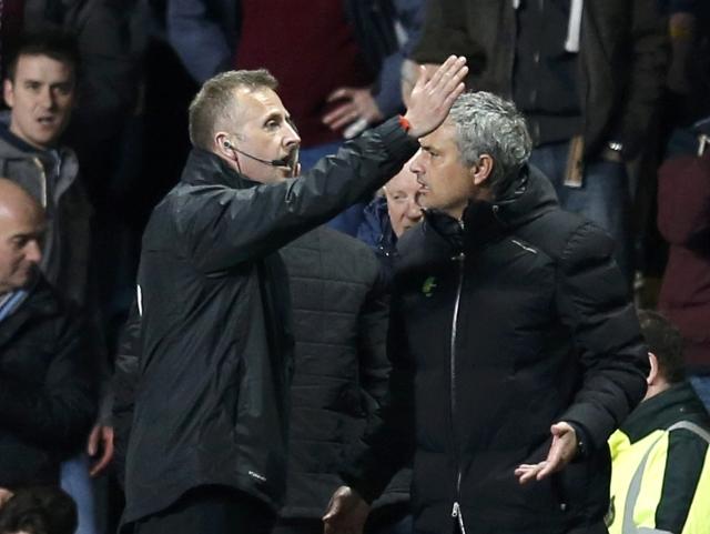 Mourinho Calls Referee into Question over Villa Loss