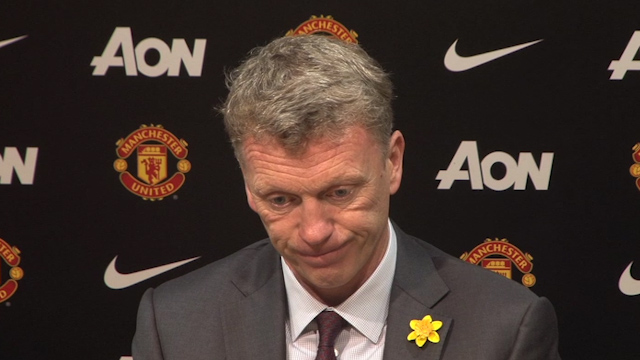 Moyes: Man Utd Not at a Standard to Beat Liverpool