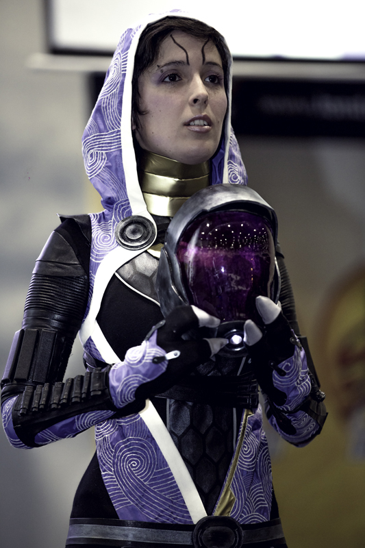 Lilith as Tali'Zorah from Mass Effect