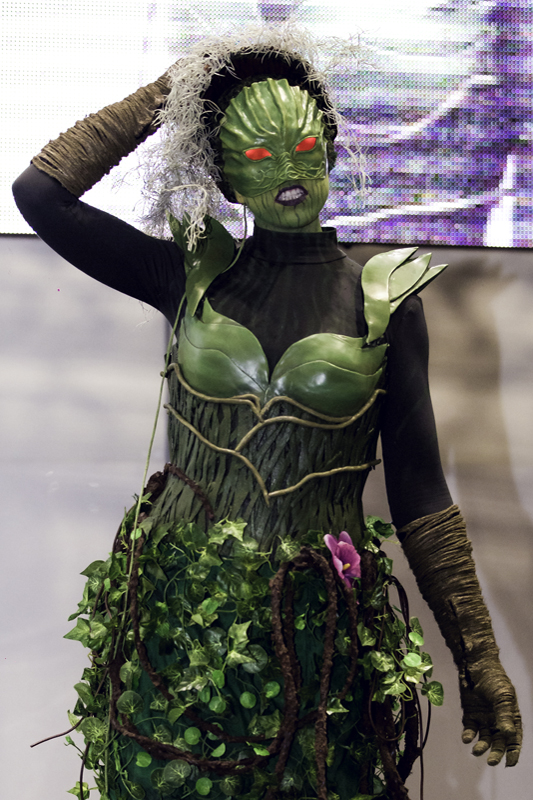 Raven Quinn as Lady Weed from Swamp Thing