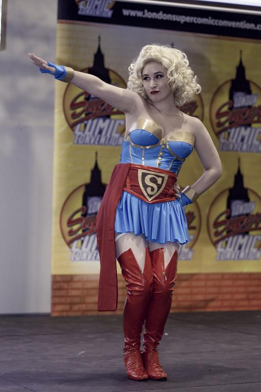 Pauline Popette as Bombshell Supergirl