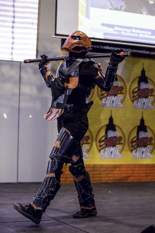 Stacey Rebecca as Deathstroke