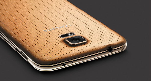 Samsung Galaxy S5 Gold Launch 2