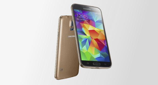 Samsung Galaxy S5 Gold Launch 3