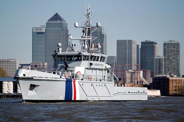 border force boat