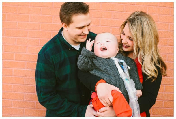 Natalie and Jake Peterson are finally able to hold their baby and take him home for the first time