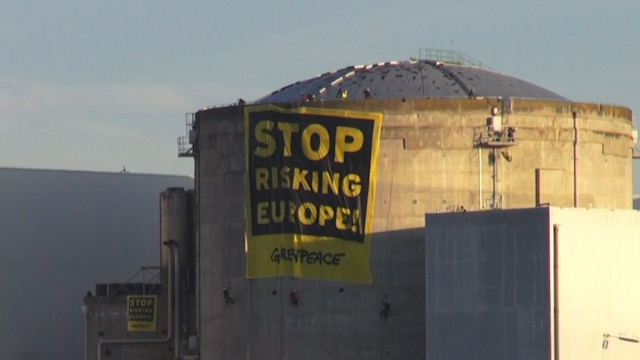 Greenpeace Activists Break Into French Nuclear Plant