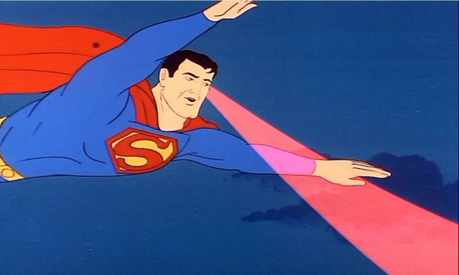 Would you like to have infrared vision like Superman?