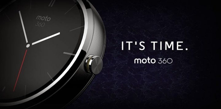 Motorola Moto 360 smartwatch with Android Wear