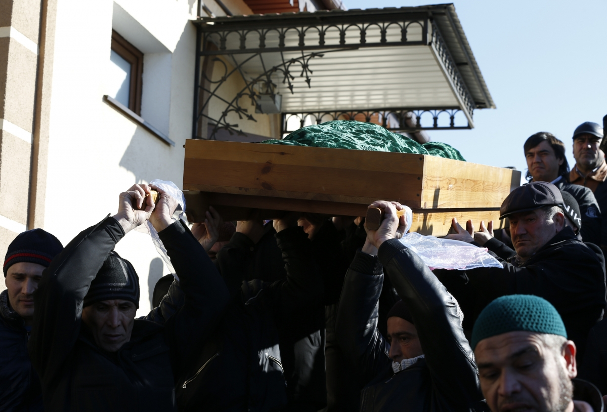 Russian Annexation of Crimea  Tatars Mourn Tortured Father-of-Three Reshat Ametov
