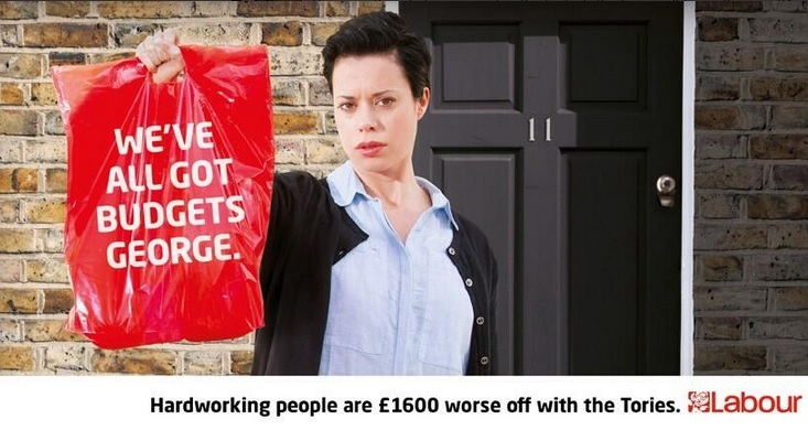 Budget 2014: Labour Ramps Up Scathing Cost of Living Campaign: New Poster