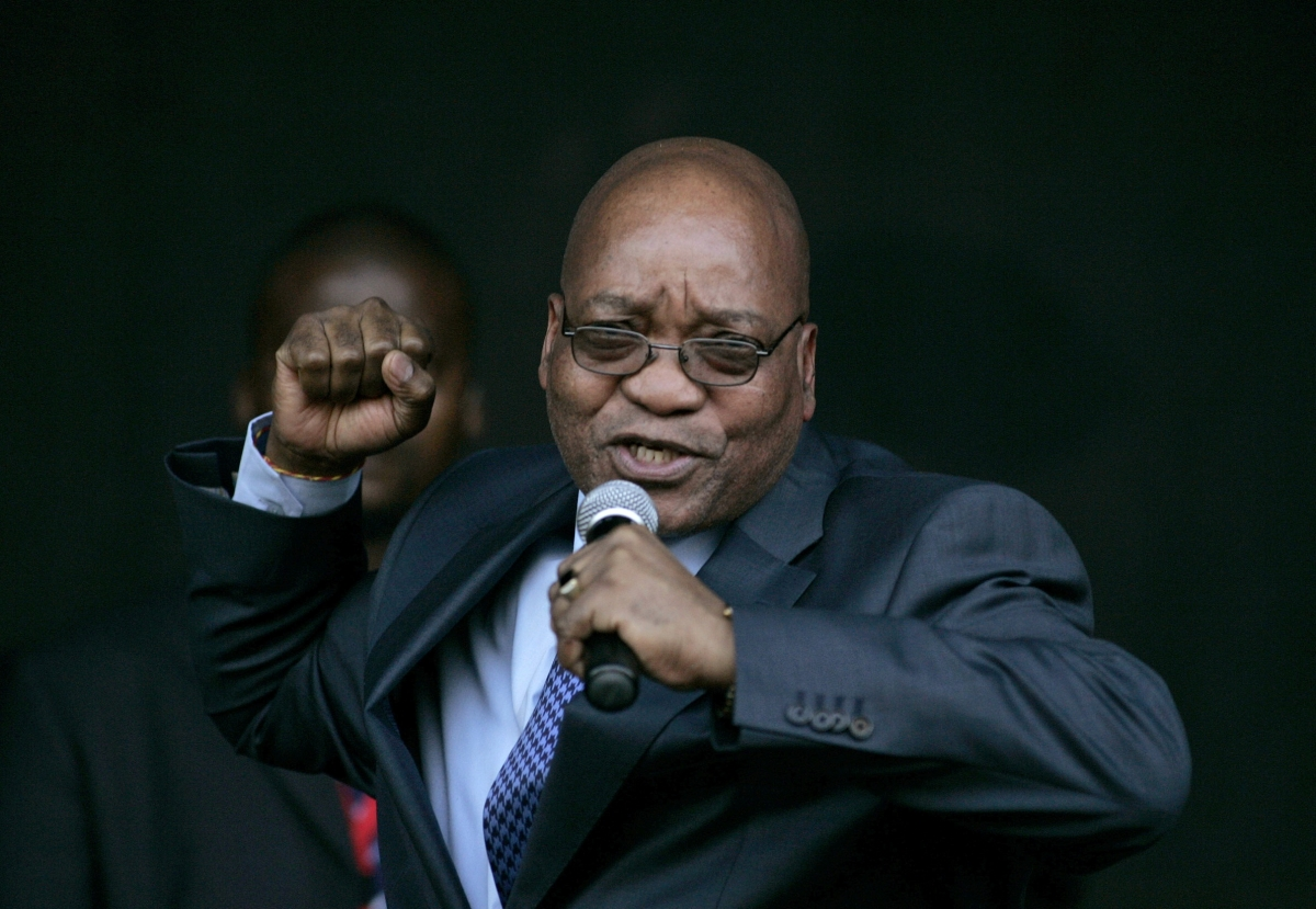 Jacob Zuma South Africa
