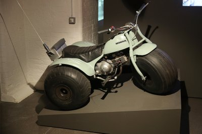 A Honda 3-wheeler bike from Diamonds Are Forever 1971