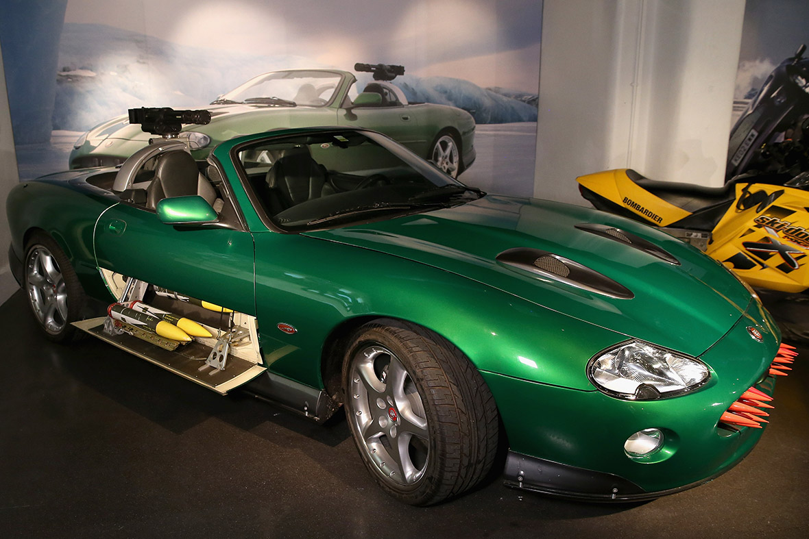 The Jaguar XKR from Die Another Day