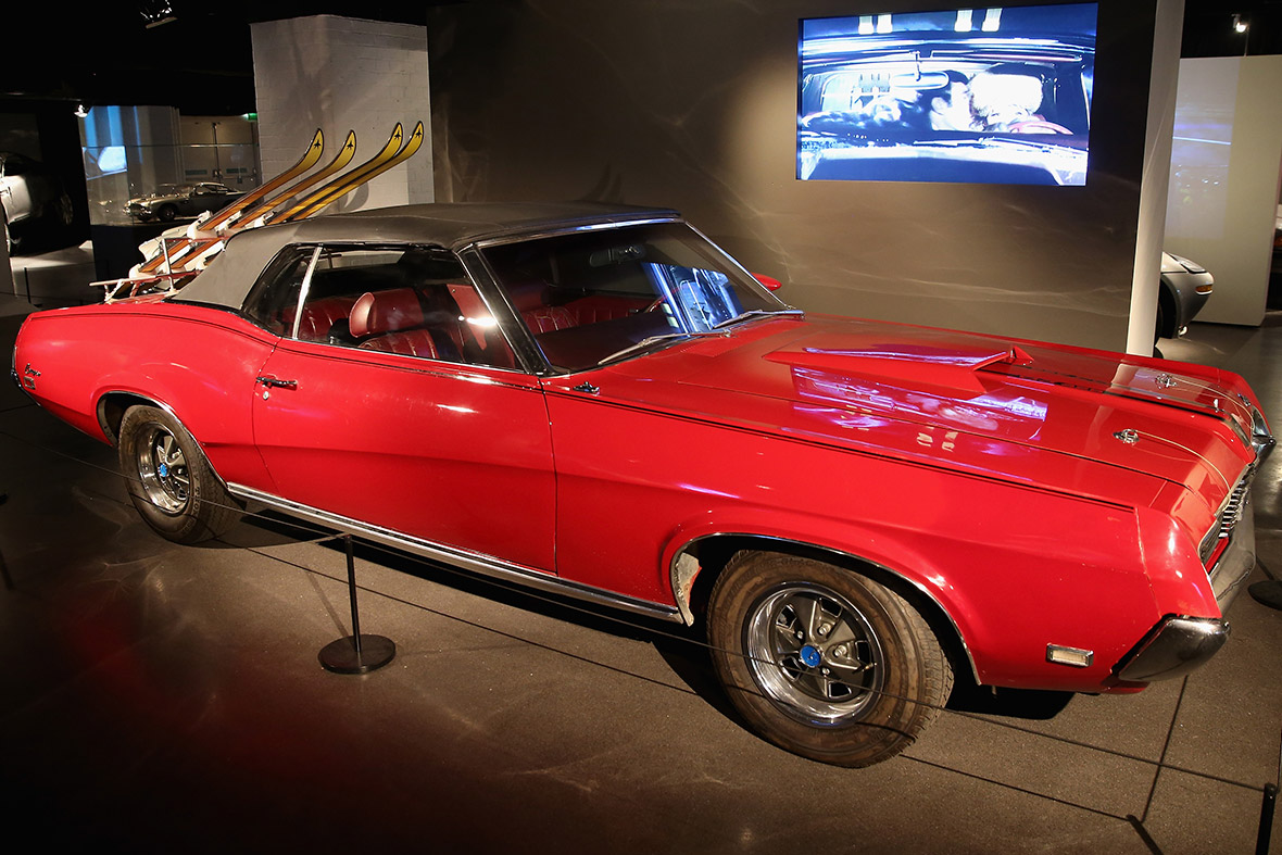 A red Mercury Cougar XR7 used in On Her Majestys Secret Service