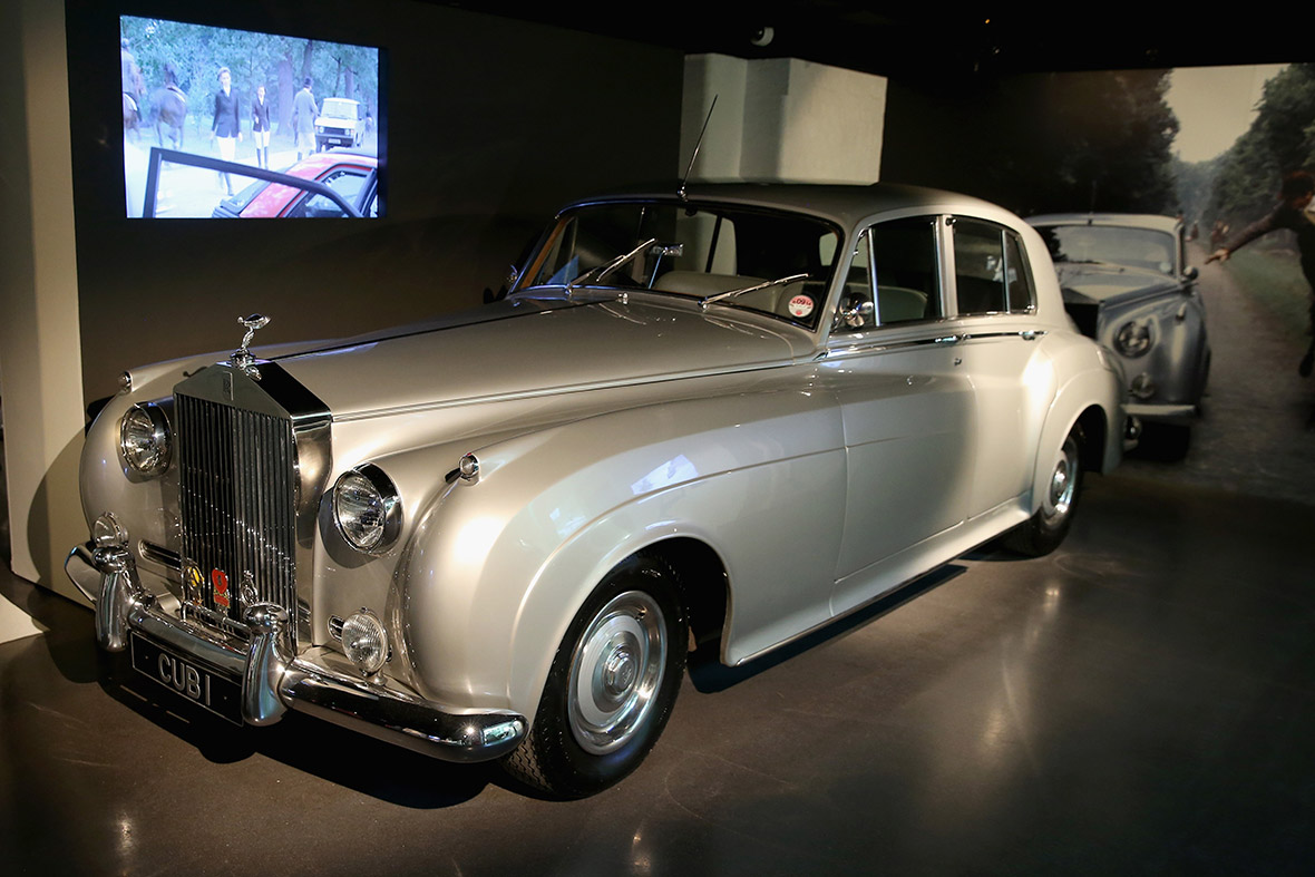 A 1962 Rolls-Royce Silver Cloud II with the licence plate CUB 1, owned by Bond film producer Albert R. Cubby Broccoli. A replica of this car was used in A View To A Kill 1985