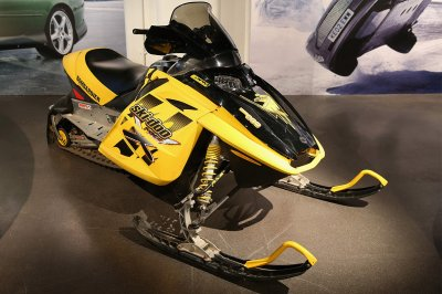 The Bombardier Ski-Doo MX Z-REV 800 snowmobile from Die Another Day