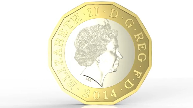 Budget 2014: George Osborne Unveils New £1 Coin