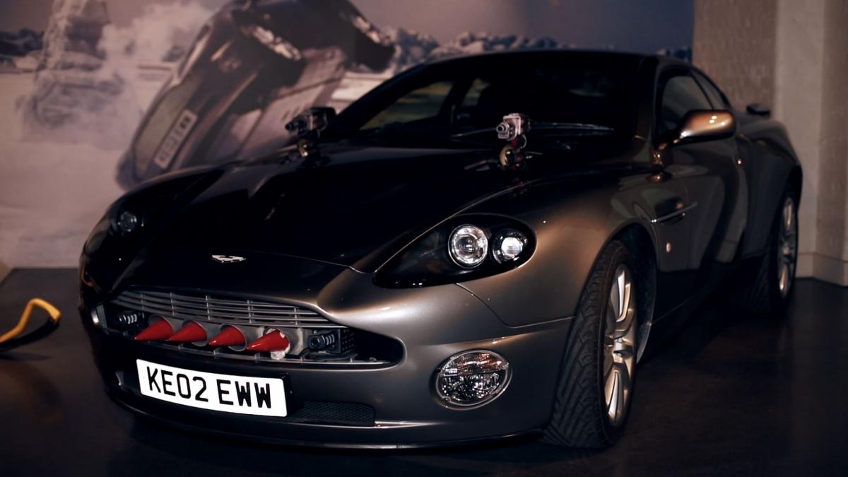 James Bond Cars Go on Display in London