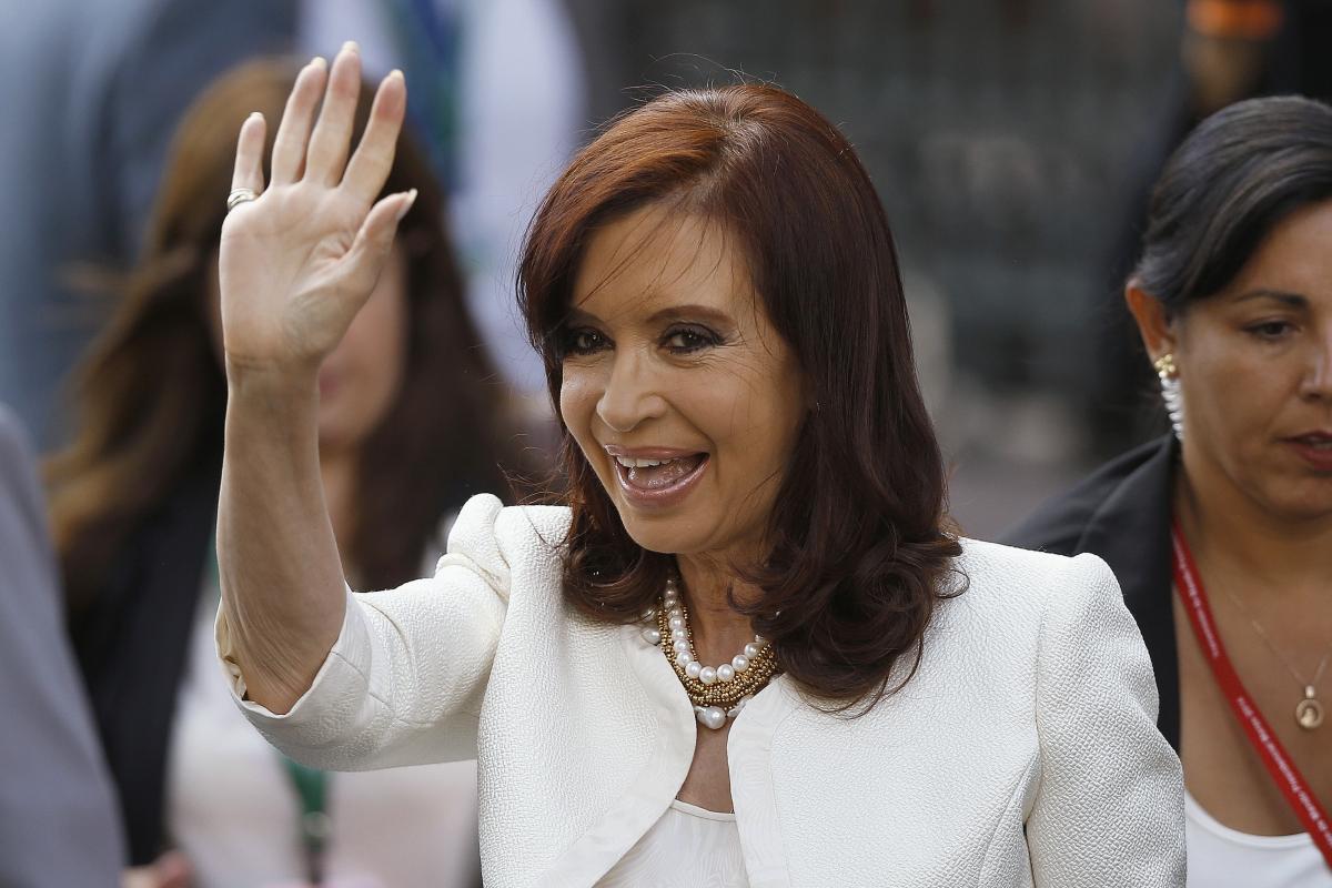 Argentinian President Kirchner