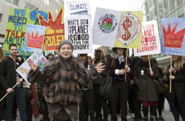 Vivienne Westwood Fracking