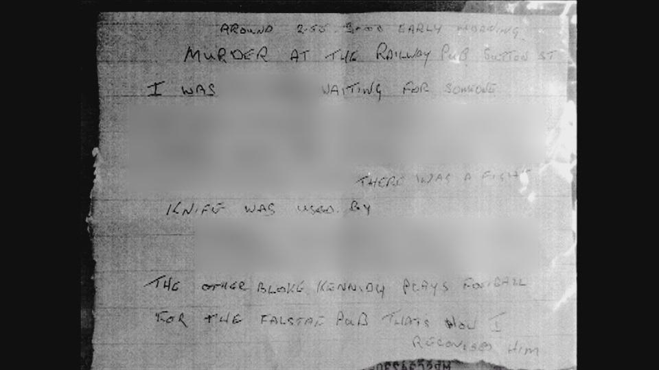 John Kennedy Letter