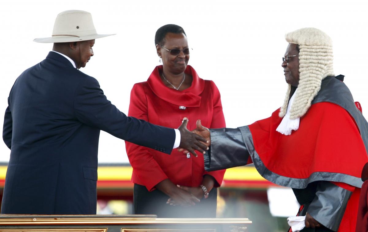 Uganda Museveni Africa Anti Gay Bill Janet Cows