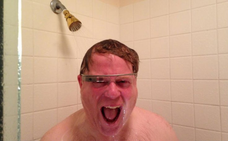 Robert Scoble In Shower with Google Glass