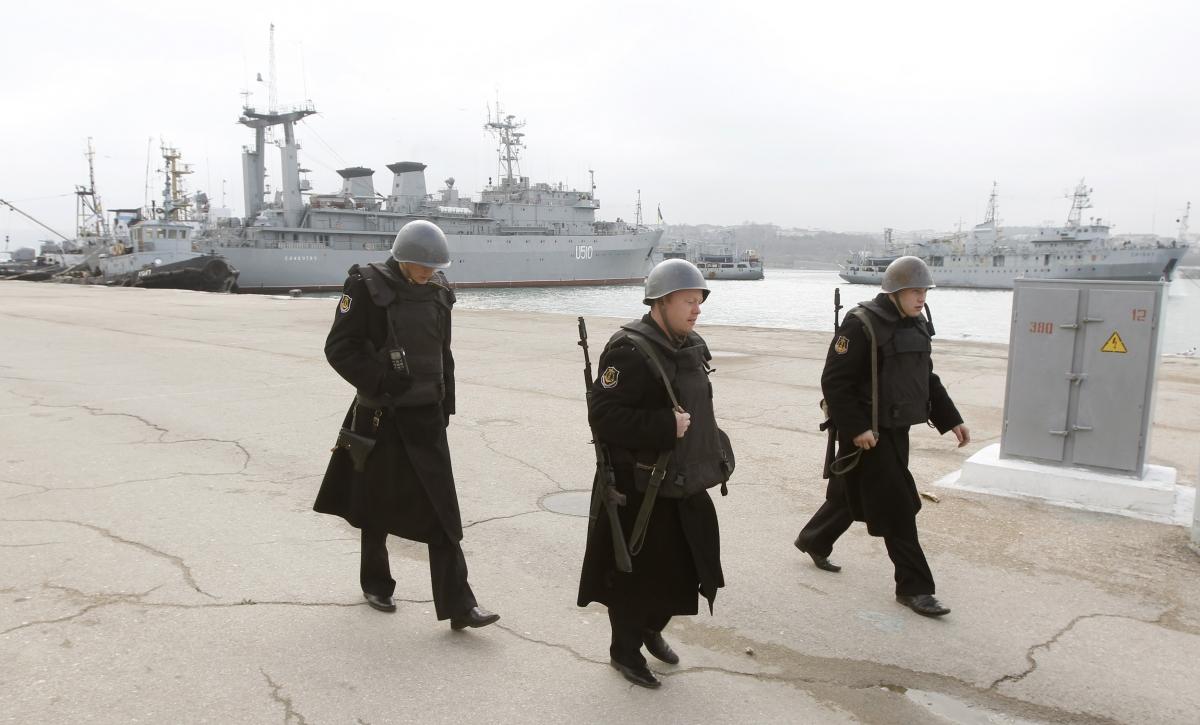 Crimea: Ukrainian Navy Chief Hayduk Freed Sevastopol