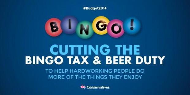 Tory Bingo Tweet