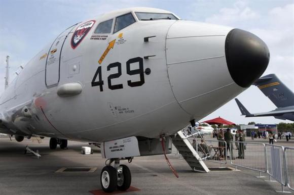 U.S. Navy Boeing Poseidon P8