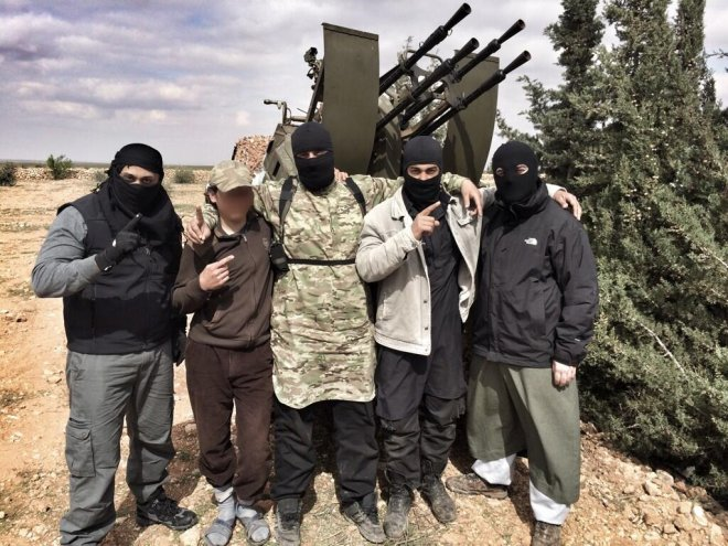 Syria Rebel Fighters Jihad