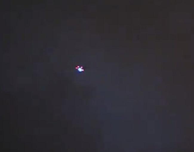 UFO spotted on Australia's Goldcoast