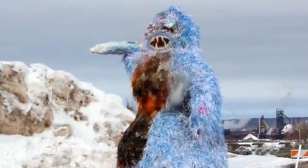 Snowman Burning Day