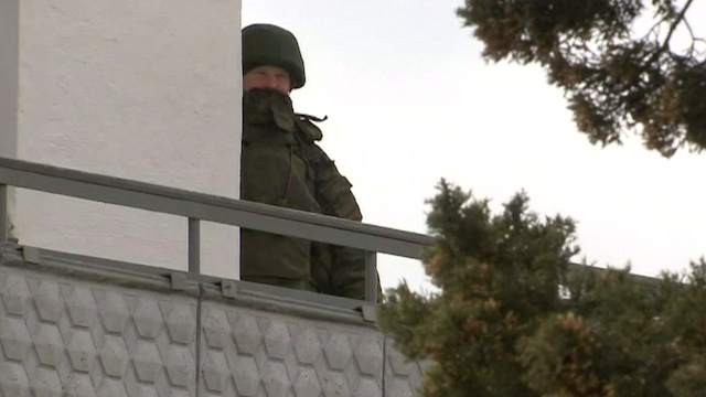 Russian Forces Keep Grip on Ukraine Military Facilities