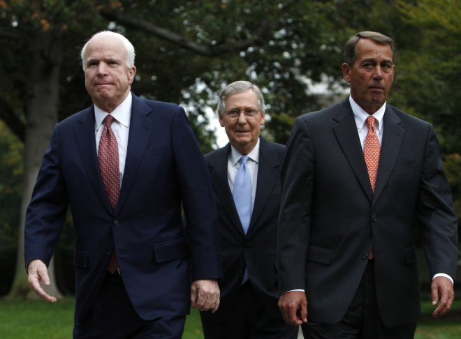 Russia McCain Boehner US Sanctions Cold War