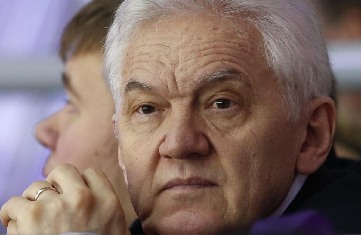 Russian businessman Gennady Timchenko