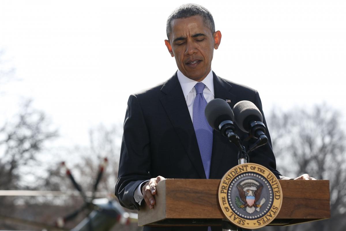 US President Barack Obama Urkaine