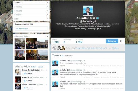 Gul twitter account