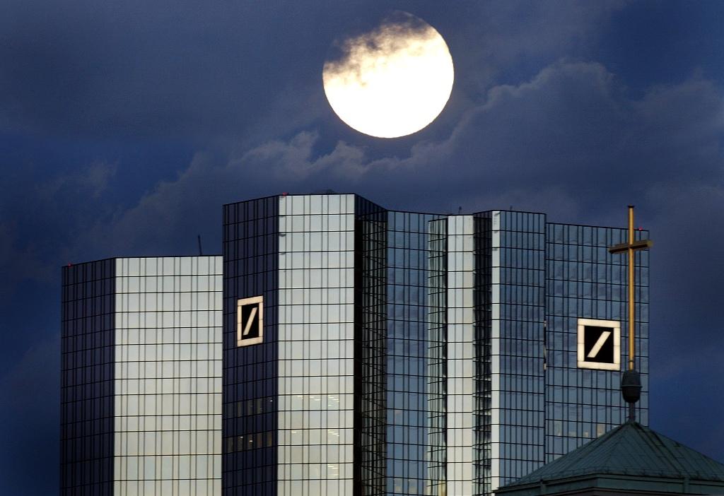 Deutsche Bank Headquarters Frankfurt Germany