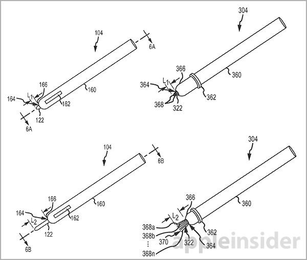 Apple stylus extendable